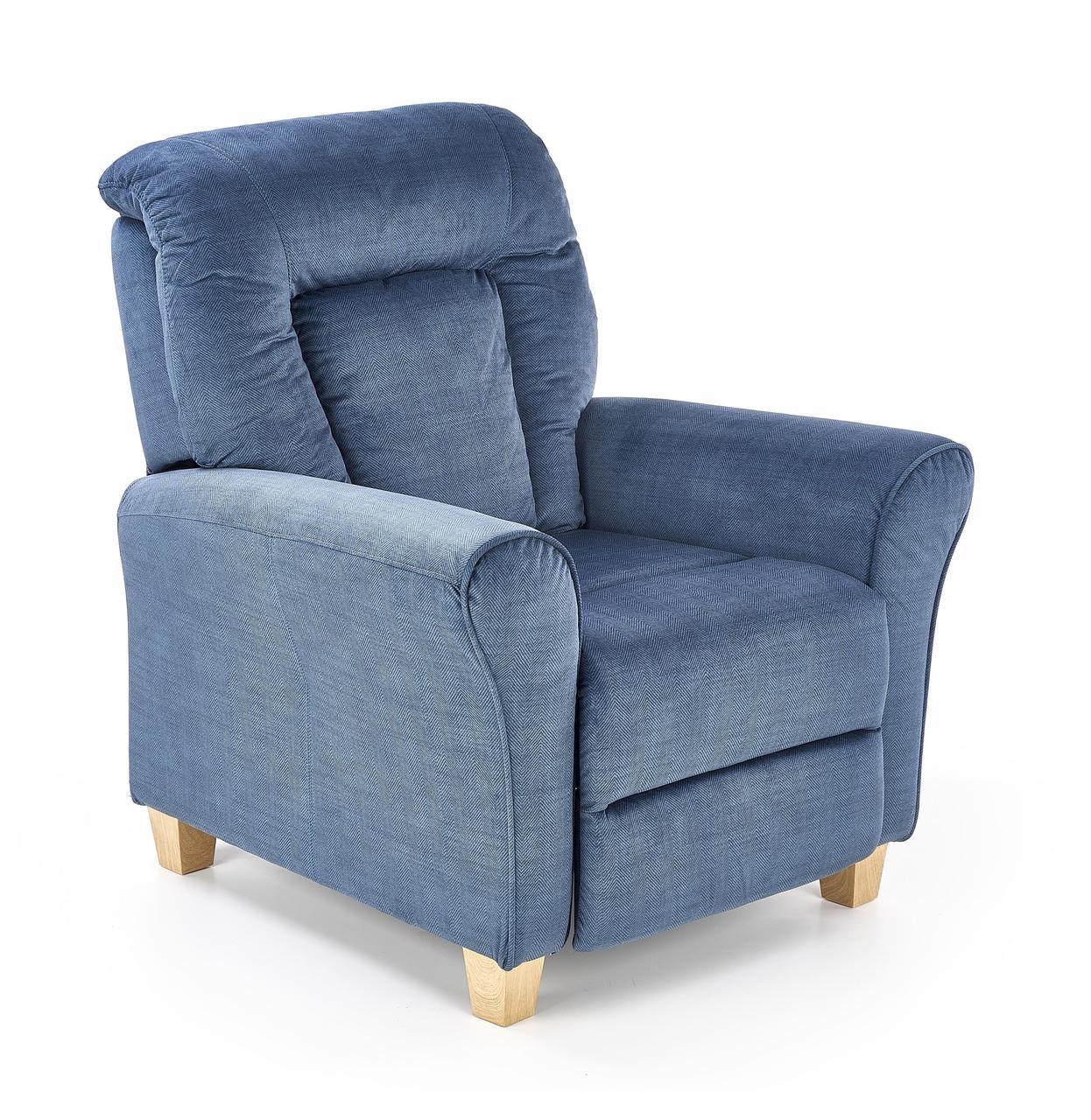 Крісло розкладне BARD Halmar Темно Синій