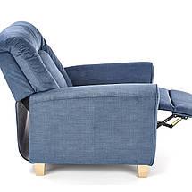 Крісло розкладне BARD Halmar Темно Синій, фото 3