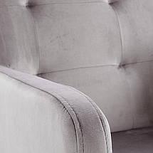 Кресло FILO Halmar Серый / Белый, фото 2