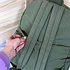Однотонный рюкзак с брелком, фото 6