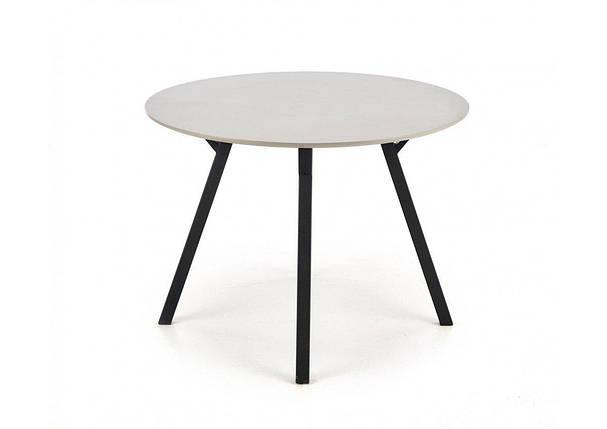 Стол обеденный BALROG OKRAGLY Halmar 100х100, фото 2