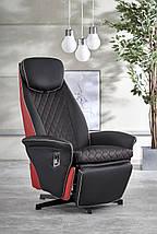 Кресло раскладное CAMARO Halmar Черный / Красный, фото 2