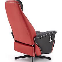 Кресло раскладное CAMARO Halmar Черный / Красный, фото 3