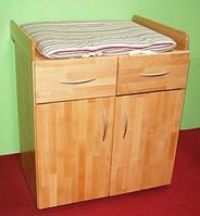 Пеленальный столик, комод, из дерева 005
