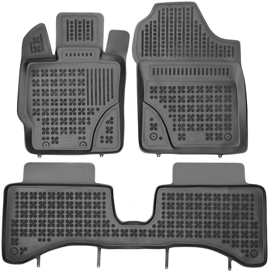 Коврики в салон Toyota Yaris III 2012 - 2014  Rezaw-Plast RP 201424