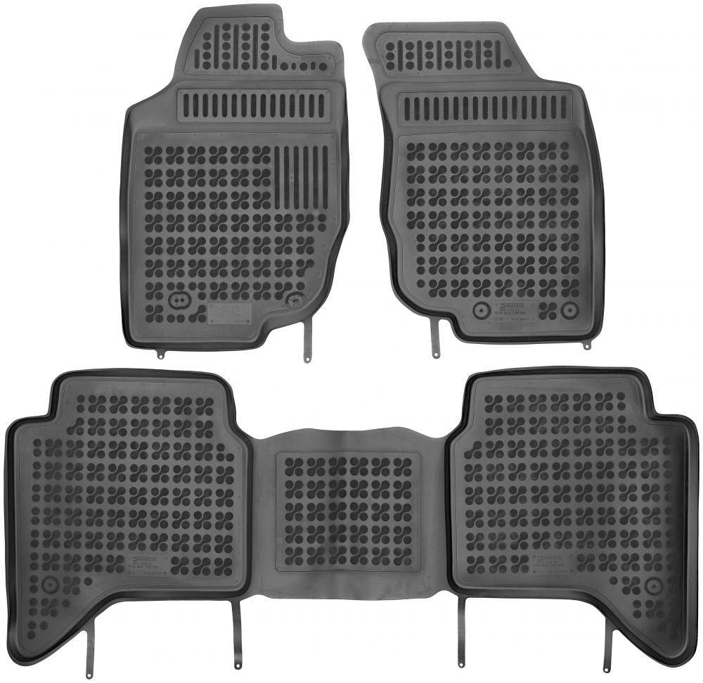 Коврики в салон Toyota Hilux (AN10, AN20, AN30) 2005 - 2015  Rezaw-Plast RP 201427