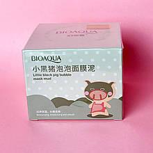 Бульбашкова маска для обличчя Bioaqua Carbonated Bubble Clay Mask, 100 мл