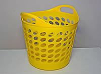 Кошик універсальна ММ-Пласт 20л, жовтий (bas20/yellow)