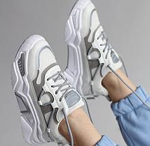 Кросівки із текстилю жіночі білі