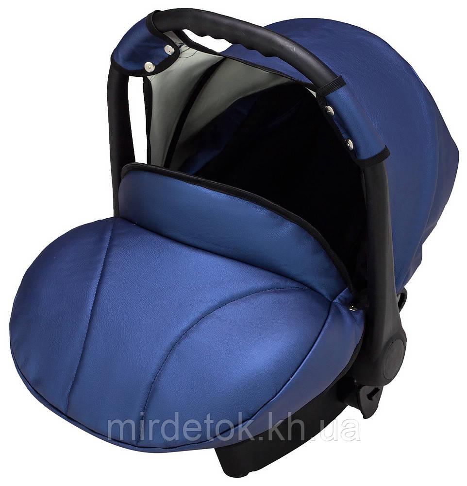 Автокрісло Bair Carlo шкіра 100% CP-27 темно-синій перламутр