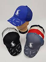 Дитячі бейсболки Polo оптом для хлопців, р.55, фото 1