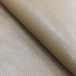 Натуральная галантерейная кожа,  ФЛЕШ, светло-рыжая,  Pantone 16-1333