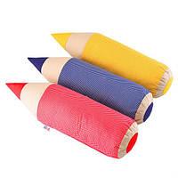 Детская подушка карандаш-валик, 58х15см разные цвета, фото 1