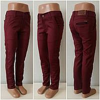 Стильные котоновые брюки для мальчика BMSY RED!  Турция. 7-15 лет.