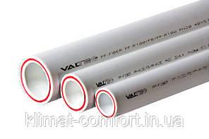 Труба поліпропіленова Valtec PP-FIBER арм. стекл PN 20 DN 40 (VTp.700.FB20.40)