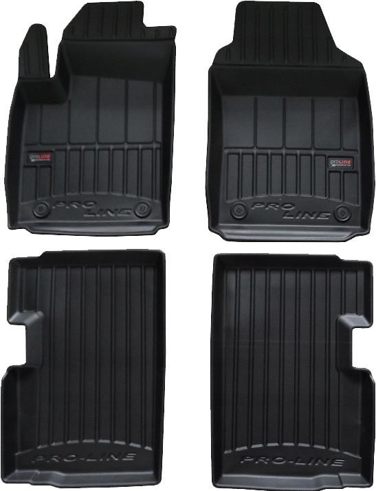 Коврики в салон Fiat 500 2007- Frogum Pro-Line 3D409736