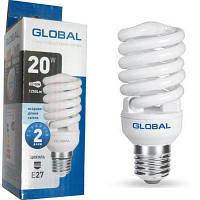 Лампа Global GFL-006-1 T2 FS 20W 4100 Е27
