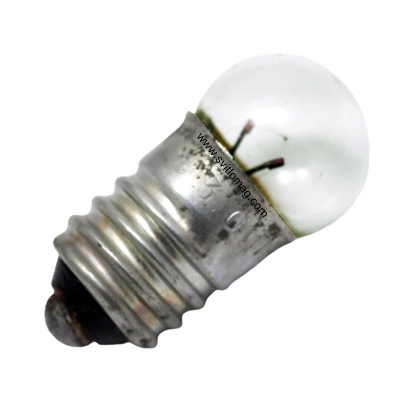 Лампа накаливания миниатюрная МН 3-0,15 Е10/13