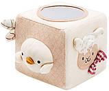 Игрушка Labebe Organic Cotton activity Cube HY051215A, фото 2