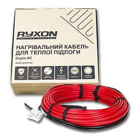 1.2m2 Теплый пол Ryxon 200W электрический нагревательный двухжильный кабель 10м