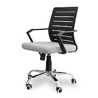 Кресло офисное Script черно-серое