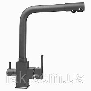 Змішувач для кухні під осмос Globus Lux GLLR-0100-3-TITANIUM