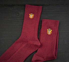 Носки Premium Мордочка Бордовые