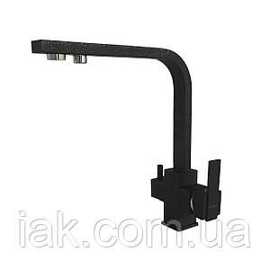 Змішувач для кухні під осмос Globus Lux GLLR-0111-1-ONIX