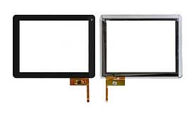 """Сенсор (Тачскрин) для планшета 9.7"""" Assistant AP-109 Force (236*183мм, 50 pin) (Черный) Оригинал Китай"""