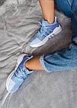 Женские кроссовки Adidas Equipment basketball (blue/white) Реплика ААА, фото 6