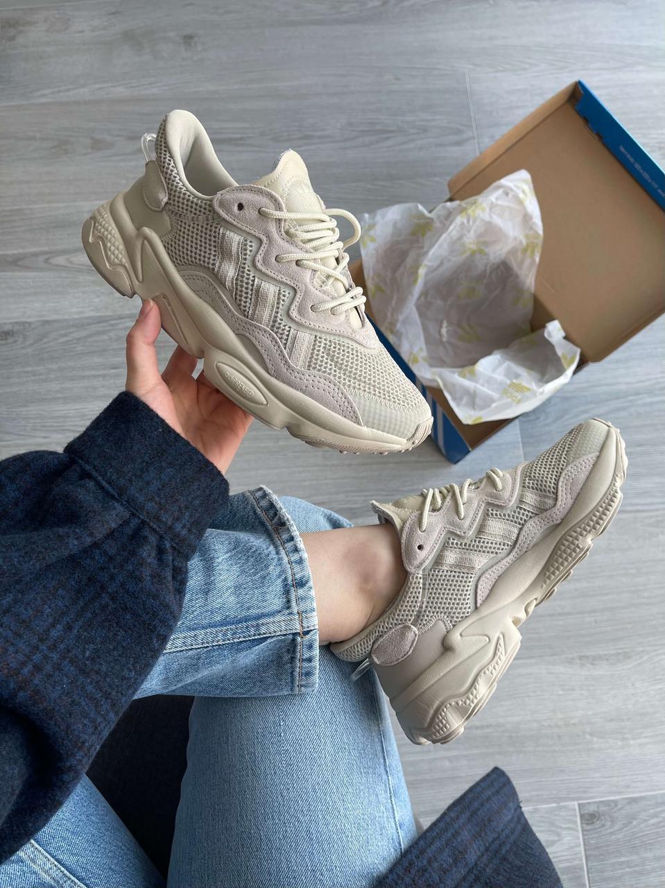 """Кросівки Adidas Ozweego Beige """"Бежеві"""""""