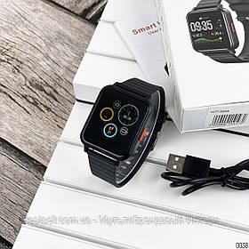 Смарт годинники наручні Modfit ZL12T All Black чорні / смарт годинник модфит