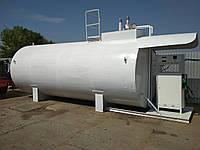 Модульная азс (блок-пункт) на базе двустенного резервуара 25 м3