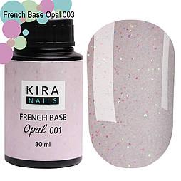 Kira Nails French Base Opal (Опал), 30 мл