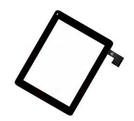 Сенсор (Тачскрин) для планшета Assistant AP-804 (199*154) (Черный) Оригинал Китай