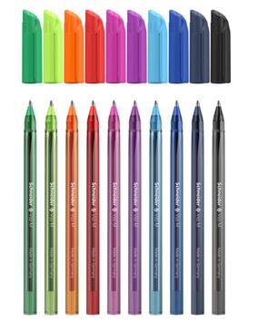 """Набір ручок масл. """"Schneiderr"""" №S102290 Vizz 0,7 мм 10кольорів(10)"""