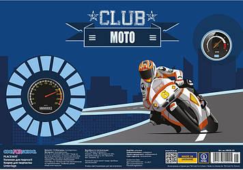 "Килимок для дит. творчість. ""CoolForSchool"" №CF69000-05 Moto club A3 пласт. миючий(8)"