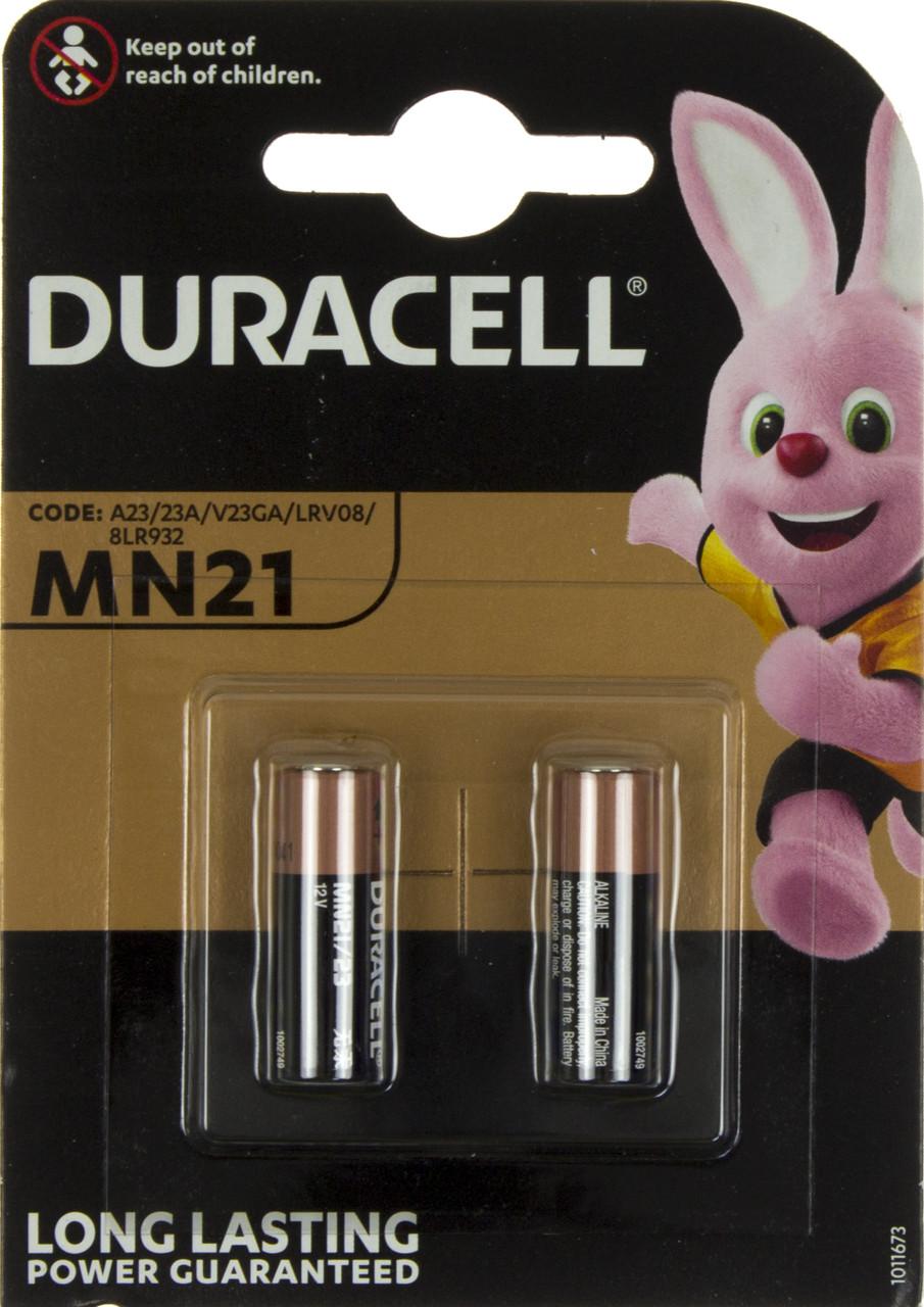 Батарейка Duracell Алкалайн LR-23A/2bl MN21(10)(100)