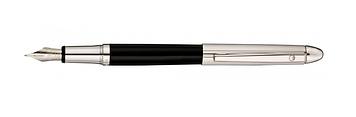"""Ручка чорн. """"Waldmann"""" Pocket,чорна №W0084"""