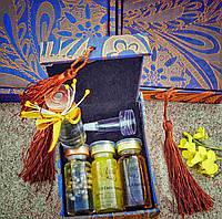 Набор омолаживающих сывороток с золотом, коллагеном, икрой Zenа, 4 шт по 10 мл+ в подарок Гиалуроновая кислота
