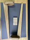 Меблеві ніжки і опори дерев'яні для столу з гранями /  КОД: Високі - 12, фото 2