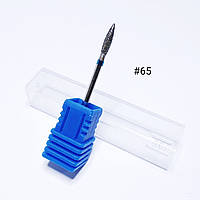 Насадка алмазная для маникюра/педикюра синяя №65