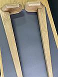 Меблеві ніжки і опори дерев'яні для столу з гранями /  КОД: Високі - 12, фото 4