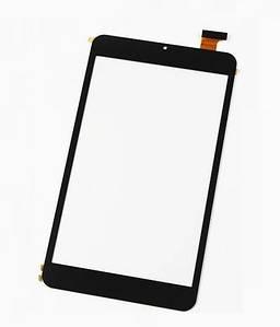 Сенсор для планшета Assistant AP-875 (211*119) без выреза под динамик (Черный) Оригинал Китай