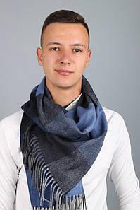 Чоловічі шарфи FAMO Чоловічий шарф Родерік синій 180*30 (MS-05)#L/A