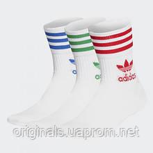 Носки Adidas Crew Mid-Cut 3P GG1015 2021 оригинал