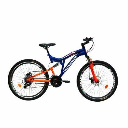 """Велосипед 26 МТВ-susp.ST """"NITRO"""" сталь, дискові гальма, 21 швидкість, двопідвісний"""