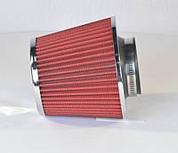 Фильтр воздушный нулевого сопротивления (Dрез.=76мм) (RIDER)(арт.RD.1430SB00176)