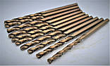 Свердло по металу Р18 (HSS-Co5, Р6М5-К5) 4,0 мм, фото 3