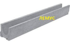 Лоток бетонный водоотводный H125